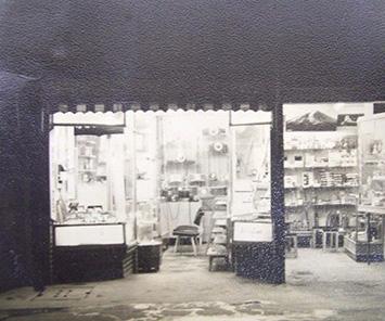 昭和28年頃の店舗