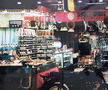 昭和37年頃の店舗