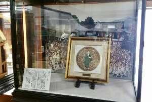 聖護院門跡様が節分会に合わせまして、ジュエリー絵画「ブッダ」を展示下さいました。
