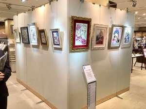 日本橋三越本店様でジュエリー絵画フェアを開催中です!!